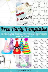Tons Of Free Party Templates To Customize For Any Party