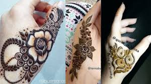 Simple Mehndi Designs For Mehndi Lovers 2018 Mehndi Tattoo Designs For Girls