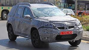 2018 renault duster. interesting 2018 2018 dacia duster spy photo  for renault duster o