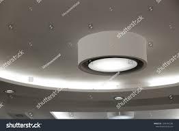 Industrial Office Lighting Fixtures Ceiling Large Small Lighting Fixtures Spot Stock Photo Edit