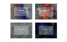 Gallery Website Template Html5 Fashion Responsive Web