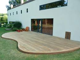Terrasse En Bois Composite Feucherolles 78 Lame De Gris Prix