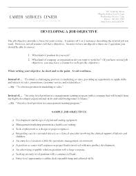 Objectives For Resumes Adorable Resumes Objectives Resume Objective Sentences Best Marketing Resumes