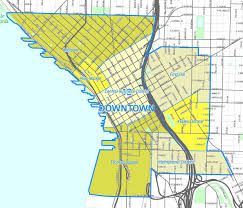 fileseattle downtown neighborhoods  wikimedia commons