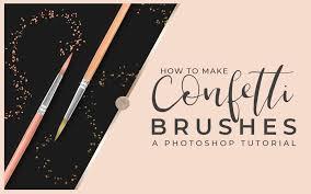 Confetti Brush Photoshop How To Make A Photoshop Glitter Brush Prettywebz Media