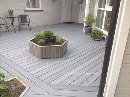 gray composite decking. Interesting Composite Here Are One Of Our NewTechWood Terrace Decking Project In Norway Using  UltraShield Naturale Capped Composite Boards The Light Gray Color Inside Composite