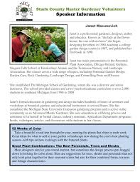 Small Picture Stark County Master Gardener Volunteers Botanica 2017