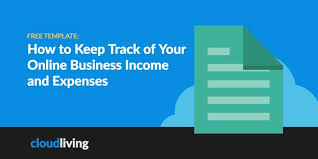 How To Keep Track Of Your Online Business Income And Expenses