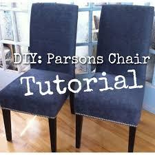 best tutorial to redo my exact dining chairs