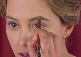 step 4 accentuate the arch of your eye brows