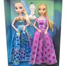 Đồ chơi cho bé gái Búp bê Nữ hoàng băng giá ELSA, Công chúa ANNA đáng yêu  và người tuyết OLAF tinh nghịch.