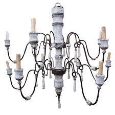 black outdoor chandelier