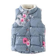 Loveble Girls Kids Autumn/Winter Graffiti <b>Printing</b> Vest Waistcoat ...