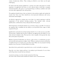Entry Level Medical Assistant Cover Letterample Awesome Letter
