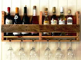 Homemade Wine Rack Image Of Glass Racks Creative