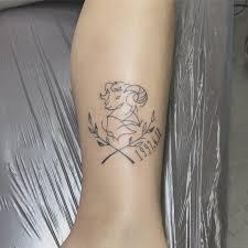 New Tattoo Aries 牡羊座自分の星座 At Mizukingu0625 Mizuki