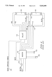 patent us emergency lighting system utilizing improved patent drawing