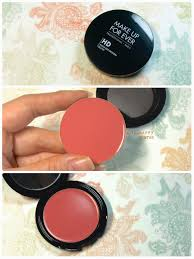 make up for ever hd high definition blush in 330 rosy plum review and swatches