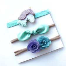 Horn Decorative Accessories CUTIEPIE 100PcsSet Fashionable Unicorn Horn Seris and Bowknot 52