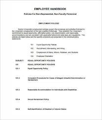 Free Employee Handbook Template Pdf Elegant Free Employee Handbook