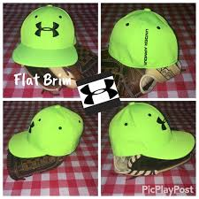 Under Armour Youth Stretch Fit Flat Brim Hat