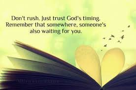 Gods Timing Quotes Enchanting Trusting In Gods Timing Quote Quote Number 48 Picture Quotes