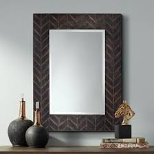 Wall mirrors Modern Destination Black Over Copper 30 Lamps Plus Decorative Mirrors Dining Room Living Room Bedrooms More