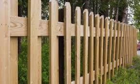 brown vinyl picket fence. Wood Fence Brown Vinyl Picket