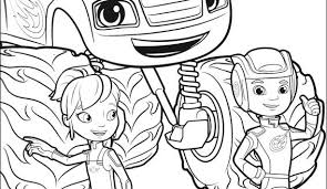 Blaze Coloring Pages Coloring Page Happycloudxucom Blaze Coloring