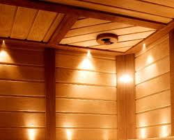 lighting sets. Sauna Lighting Sets