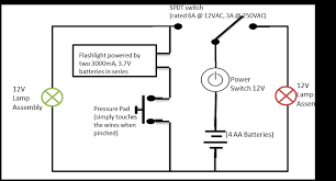led latch push button help electronics forums in the above link is my laser weapon design the button and battery are part of a circuit the only concern i have is that when the circuit is open the