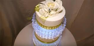 diy chandelier cake stand 3 tier lit chandelier wedding cake stand diy crystal chandelier cake stand