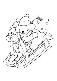 Sneeuwbal Kleurplaat Pag 6 Winnie The Pooh Kleurplaten
