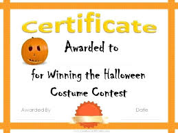 Costume Contest Certificate Template Best Smile Award Certificate Down South Theme Free Family