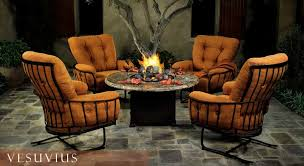 Fire Pits and Chat Groups The Hot Patio Furniture Trend for 2011