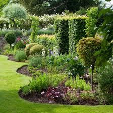 Border Landscaping Ideas Quirky Garden Borders | Traditional Gardens | Garden  Design Ideas .