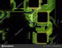 Light Based Computer Chips Computer Chip Light And Shine Stock Photo Vlodik_koks
