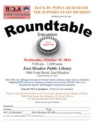 roundtable flyers