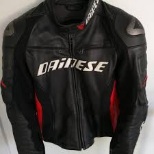 dainese racing d1 leather jacket motorbikes motorbike accessories on carou