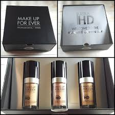 the power of makeup with make up for ever ultra hd foundation swatches and review
