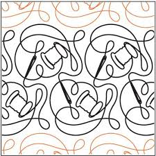 68 best My Quilting Designs( Pantographs) images on Pinterest ... & Sewing Time - Digital - Quilts Complete - Continuous Line Quilting Patterns Adamdwight.com