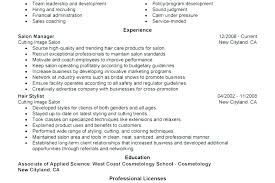 Cosmetology Sample Resumes Cosmetology Sample Resume Cosmetology ...
