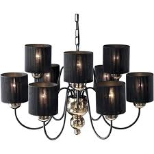 chandelier black shade plus garbo bronze amp black ceiling light with black string shades black and chandelier black shade
