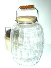 large glass jars with lid jars with clamp lids large recycled glass jar cork lid vintage