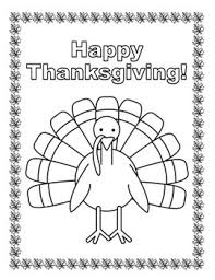 Free Happy Thanksgiving Turkey Coloring Page By Underbite Jr Tpt