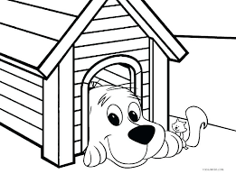 Dog Coloring Pages For Preschoolers Realistic Dog Coloring Pages