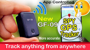 Spy <b>GPS tracker GF-09</b> Unboxing Review - YouTube