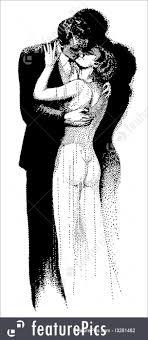 The Kiss Illustration