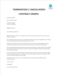 This article features email templates for communicating with clients, superiors, teammates and the like. Letter Of Termination Of Contract Templates At Allbusinesstemplates Com