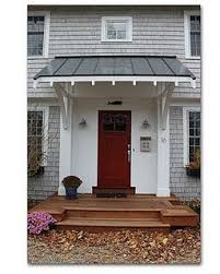 front door overhangadding an overhang to frontfor my Moms house  Tiny Home